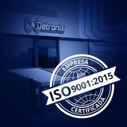 Detronix é recertificada com a ISO 9001:2015